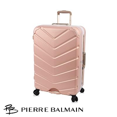 PB皮爾帕門-20吋輕量護角寬版鋁框對鎖行李箱(100%PC+日本輪系列)
