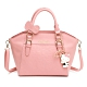 Hello Kitty聯名- 手提包附長背袋 FRIENDLY系列-粉色 product thumbnail 1