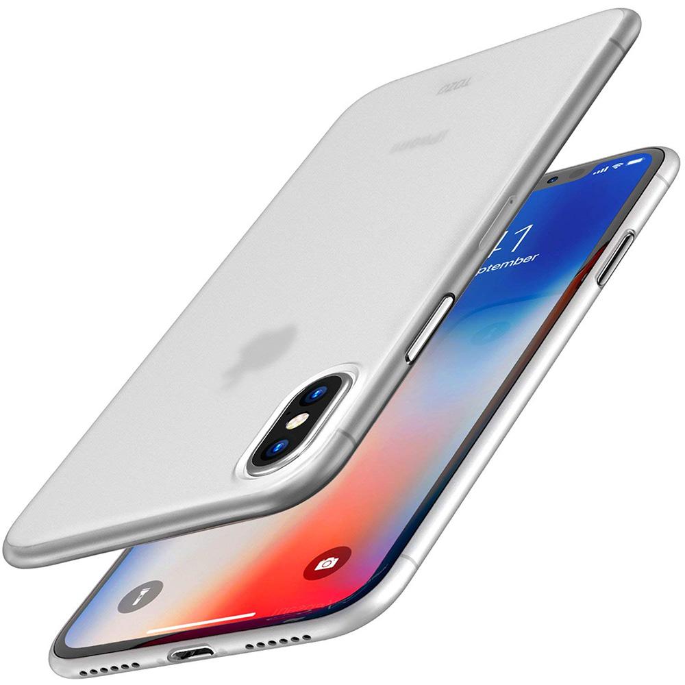 透明殼專家iPhone Xs/X 極薄0.35mm 全包覆保護殼