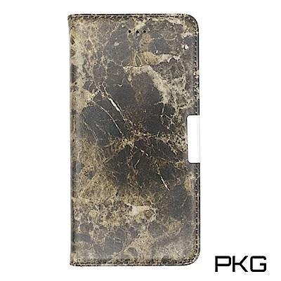 PKG Apple IPhone 8 PLUS 側翻式皮套-精選系列-大理石紋-...