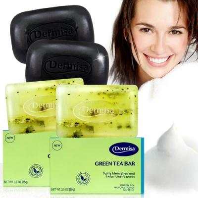 Dermisa熱銷冠軍淨白皂綠茶粉刺皂 5款任選★市價2700