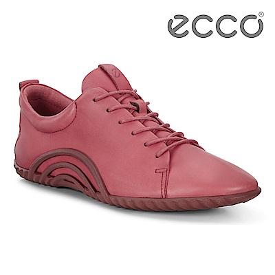 ECCO VIBRATION 1.0 活力輕巧運動休閒鞋 女-紅
