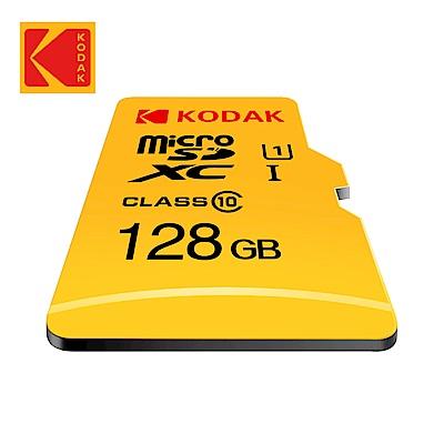 (時時樂)【Kodak】128GB UHS-I U1 MicroSD記憶卡-無附轉卡