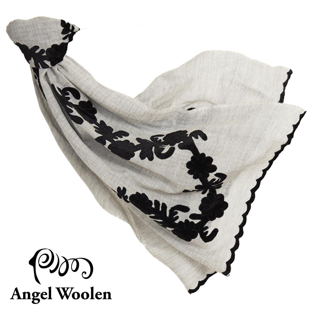 Angel Woolen花妍印度手工刺繡cashmere