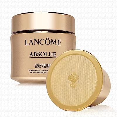 LANCOME蘭蔻 絕對完美黃金玫瑰修護乳霜豐潤版填充瓶60ml(TESTER版)