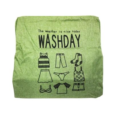 【收納皇后】 WASHDAY麻布方形洗衣籃 收納籃 可折疊大容量 三色任選