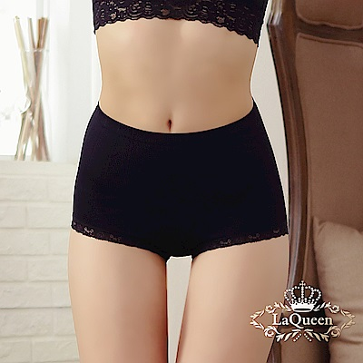 塑褲 推脂彈力無縫提臀輕塑褲-黑 La Queen