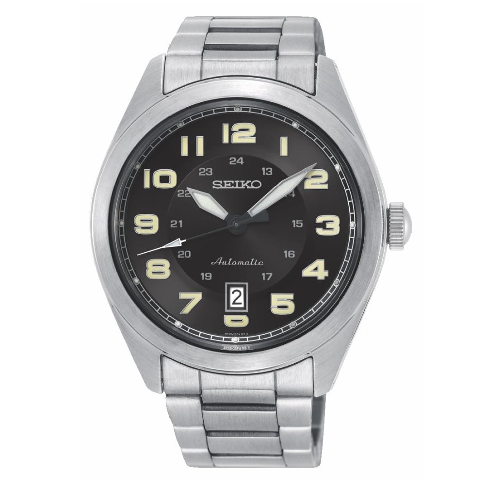 SEIKO 潮流時刻機械時尚腕錶SRPC85J1/4R35-02W0D