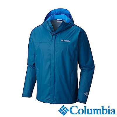 Columbia哥倫比亞 男-Omni-Tech防水外套-靛藍URE24330KF