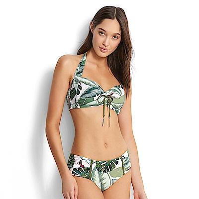 Avalanche巴西泳裝-棕櫚灘花園-平口包覆比基尼
