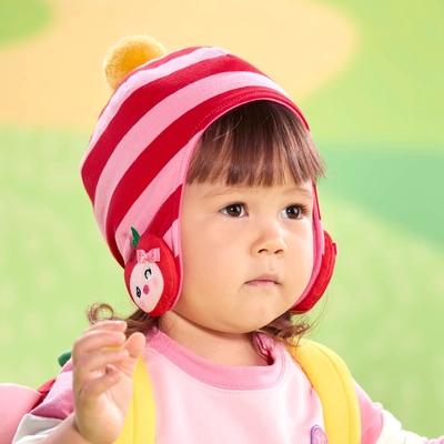 WHY AND 1/2 mini 條紋遮耳帽