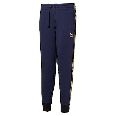 PUMA-男性流行系列LUXE長褲-重深藍-亞規