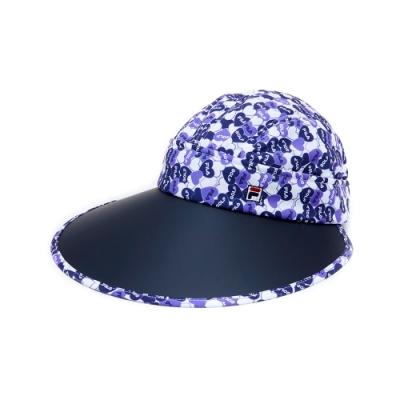 FILA 時尚遮陽帽-紫 HTU-5010-PL
