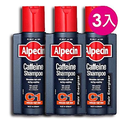 Alpecin 咖啡因洗髮露250mlx3入