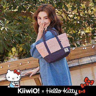 Hello Kitty x Kiiwi O! 聯名款.輕便隨行系列帆布托特包 (多色選)