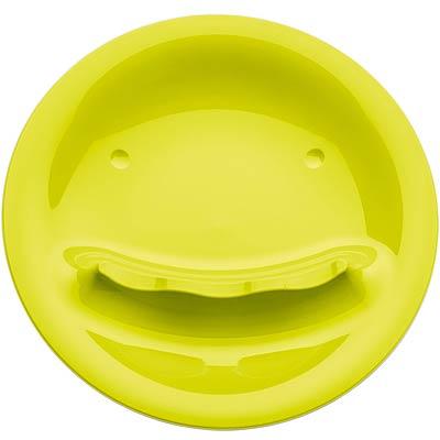 KOZIOL 微笑鏟匙盤(綠)