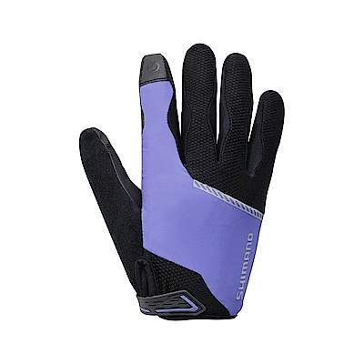 【SHIMANO】ORIGINAL 女款全指手套 紫
