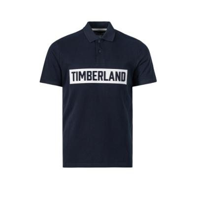 Timberland 男款深寶石藍POLO衫|A2A4V