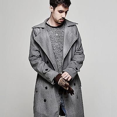 DITION 英倫ASOS毛呢長版大衣 紳士上班族 偉士牌VESPA