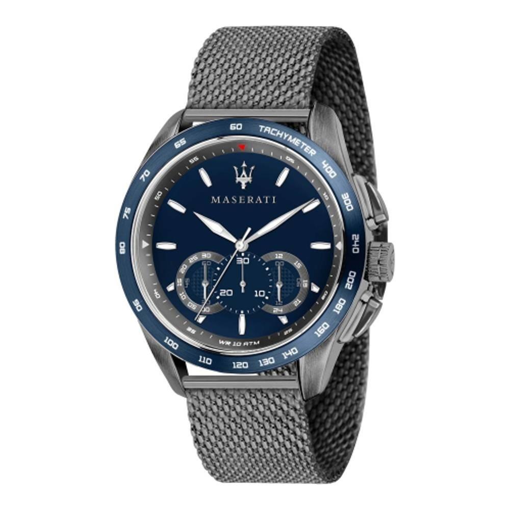 MASERATI TIME 瑪莎拉蒂 TRAGUARDO 時尚三眼計時腕錶 R8873612009