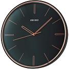SEIKO 精工 科技時尚空間設計掛鐘(QXA739L)-黑/28.6cm
