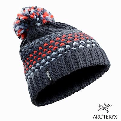 Arcteryx Fernie編織 溫暖毛球帽 黑寶石