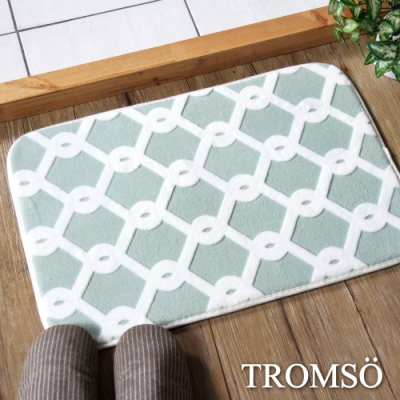 TROMSO法式淬鍊吸水小地墊-綠