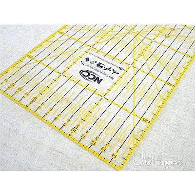 縫紉工具 NCC 雙色拼布尺30*15cm