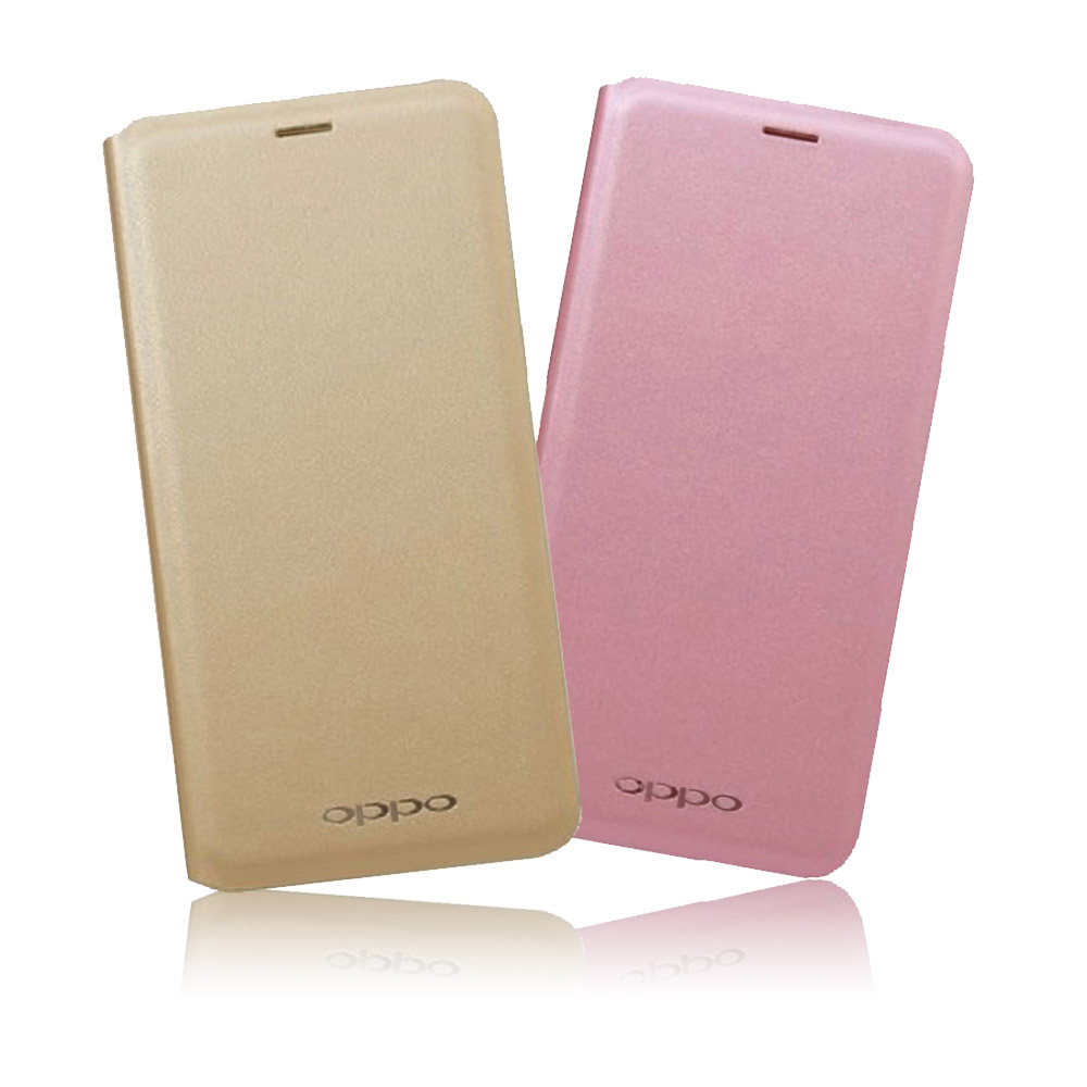 OPPO A57 原廠側掀皮套