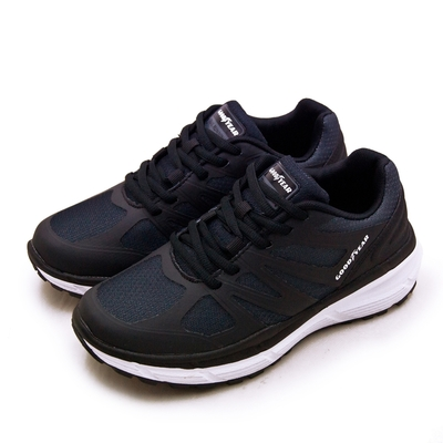 GOODYEAR 專業動能緩震慢跑鞋 K3-ENERGY能量系列 黑白 92830