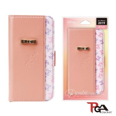 iPhone 11/11 Pro 迪士尼公主 雙重翻蓋 手機皮套-米妮