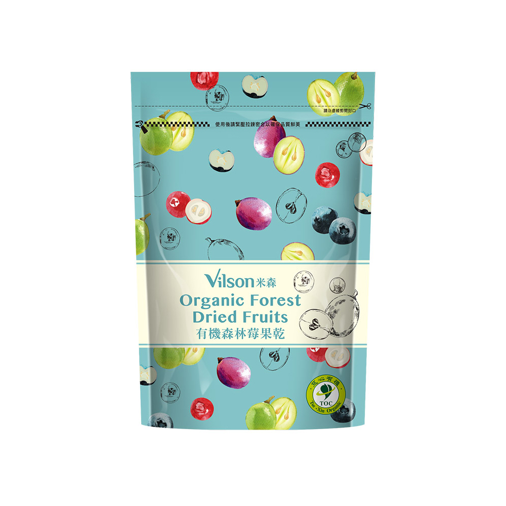 有機森林莓果乾 (250g)