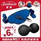 Sunbeam 萬用熱敷帶 藍色 + 筋膜舒緩花生球 product thumbnail 1