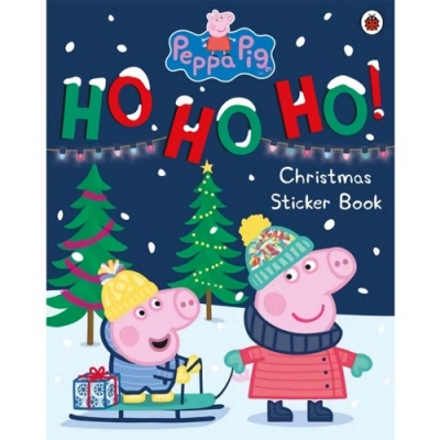 Peppa Pig:Ho Ho Ho! Christmas Sticker Book 佩佩豬的聖誕節貼紙書