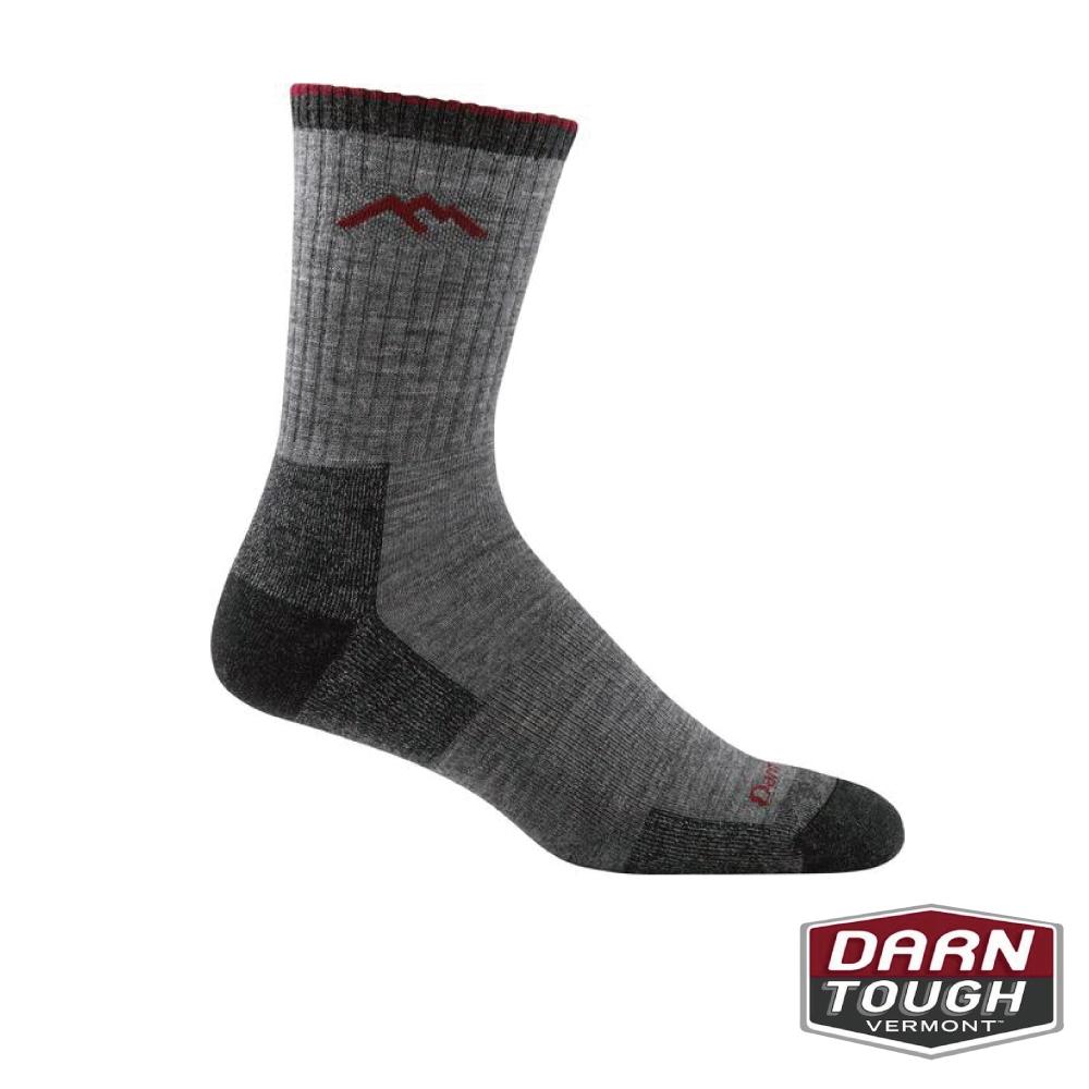 【美國DARN TOUGH】男羊毛襪HIKER BOOT健行襪(2入隨機)