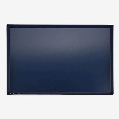 Dailylike 幾何創意桌面收納托盤-矩形L-海軍藍