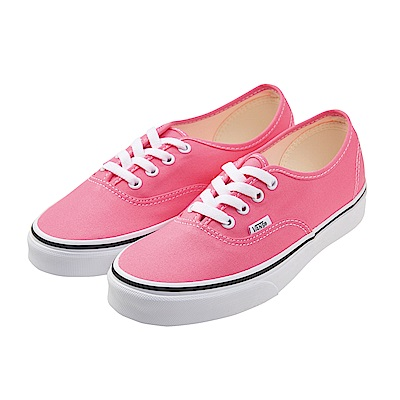 (女)VANS Authentic 經典素色休閒鞋*粉紅