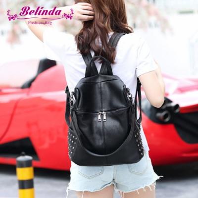 【Belinda】索菲雅二用後背包(黑色)