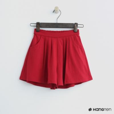 Hang Ten -童裝 - 甜美百褶褲裙 - 紅