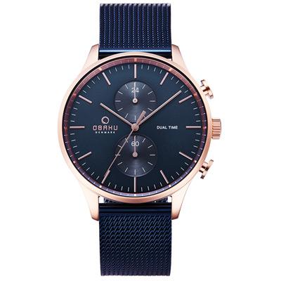 OBAKU 海洋現代闡釋多功能腕錶-V196GUVLML-42mm