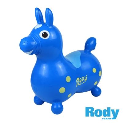 RODY跳跳馬-藍色(義大利原裝進口~寶寶騎乘玩具)