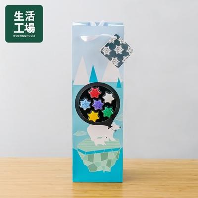【週年慶倒數↗全館限時8折起-生活工場】Gift concept北極熊禮盒提袋(酒杯標誌)