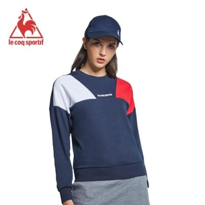 法國公雞牌圓領T恤 LYI2268539-女-藏青
