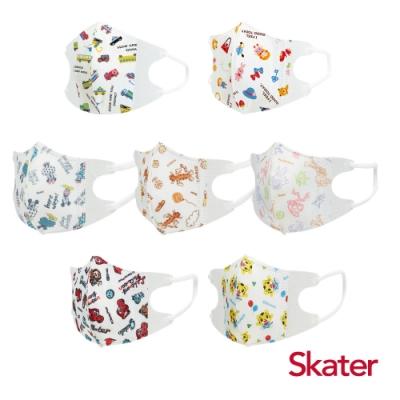 Skater幼兒立體口罩