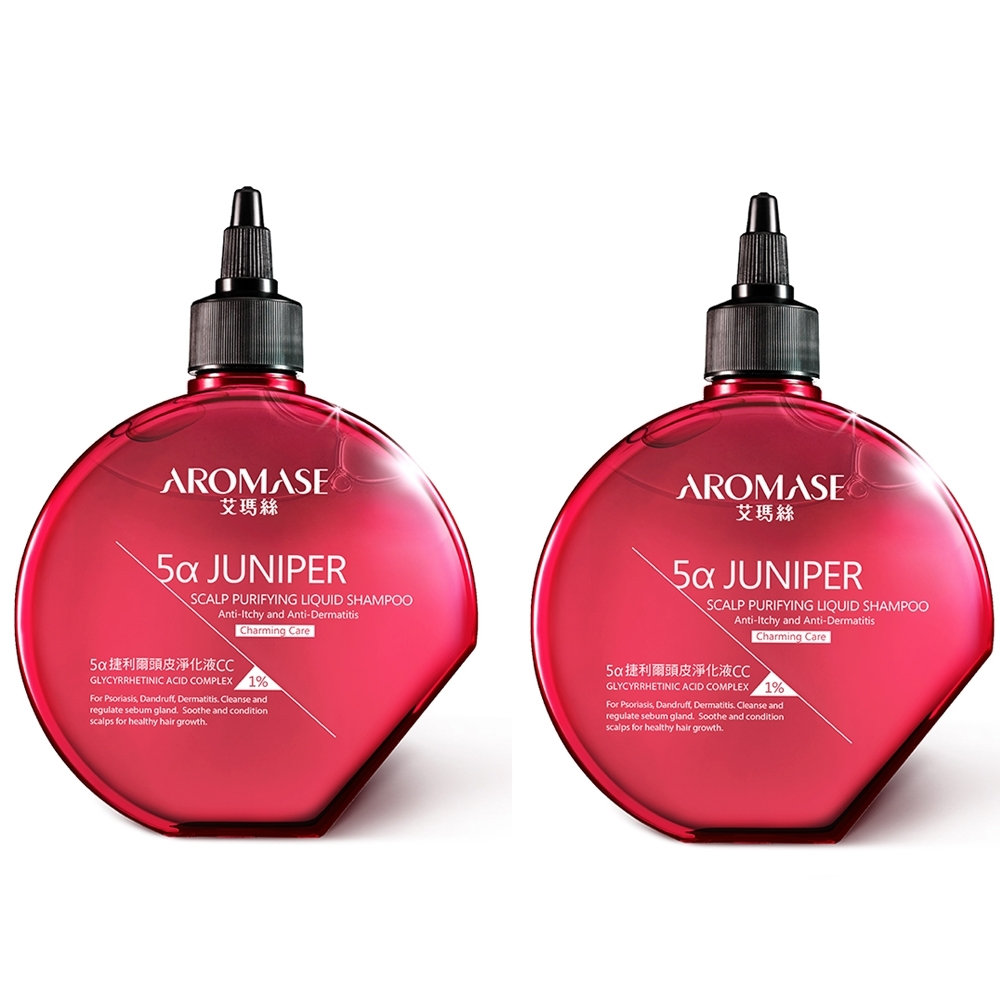 AROMASE艾瑪絲 1%捷利爾頭皮淨化液CC 260mlx2入