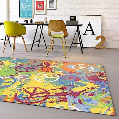 范登伯格 - 寶麗 現代地毯 - 塗鴉 (140 x 195cm)