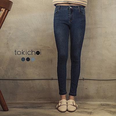 東京著衣 完美比例超強彈力多色修身牛仔褲-S.M.L.XL(共三色)