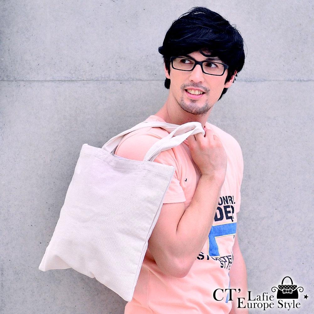 CT Lafie 無染棉袋 純然12安厚棉手提袋(1入)