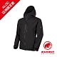 【Mammut 長毛象】Ayako Pro HS Hooded Jacket AF GTX 防水連帽外套 黑色 男款 #1010-27550(*網路限定款) product thumbnail 1