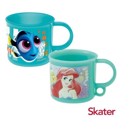 Skater吊掛式漱口杯-海底總動員多莉+小美人魚愛麗兒